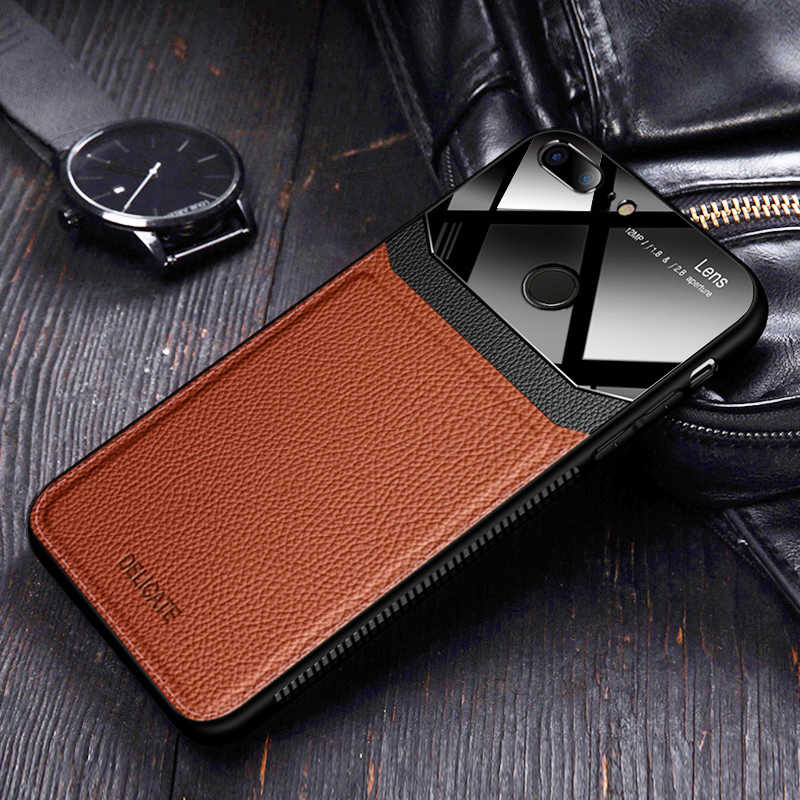 Coque,cover,case,For HuaWei Honor 9 Lite Honor9 9Lite leather Mirror glass Silicone Shockproof phone Luxury original cute cases