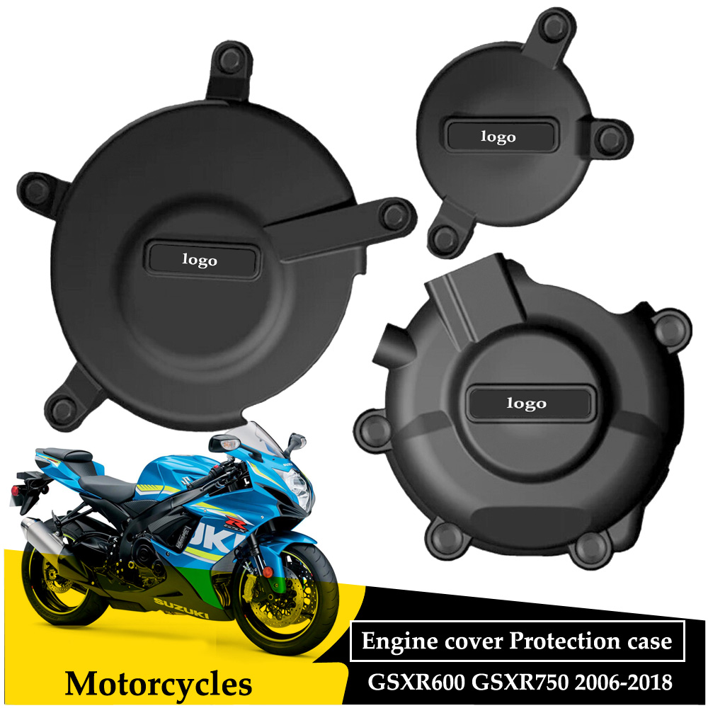 Motorcycles Engine Cover Protection Case GB Racing for SUZUKI GSXR GSX-R 600/750 2006 07 08 09 10 11 12 13 14 15 16 17 18 image