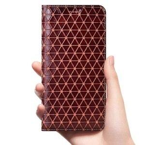 Image 5 - מגנט טבעי אמיתי עור עור Flip ארנק ספר טלפון מקרה כיסוי על לשיאו mi mi 5 6 5S בתוספת mi 5 mi 5S mi 6 פרו s 32/64 GB