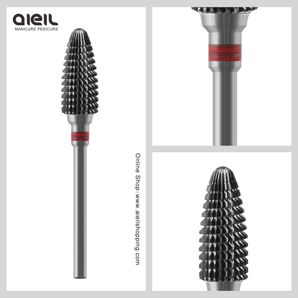 Tungsten Carbide Burrs Nail Drill Bit Faster Remove Acrylics Gel Electric Manicure Drill Accessory