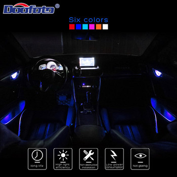 LED Car Atmosphere Lamp Interior Auto DIY Decoration Night Door bowl Light for bmw e90 mini cooper Car Decoration accessories image