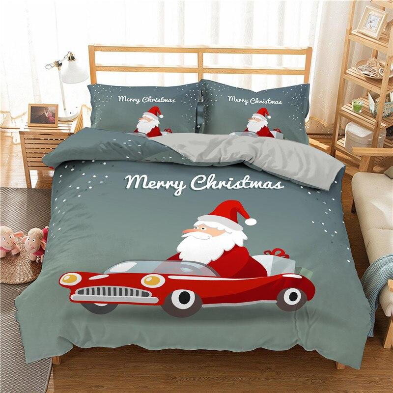 Christmas Bedding Sets Queen.Best Promo Zeimon Luxury Bedding Sets Queen Size 3d Merry