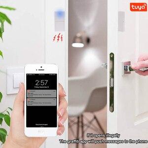 Image 5 - Tuya Smart WIFI Magnetic Door Window Sensor Open Alarm Entry Alert Security Detector Remote Control Smart Life Alexa Google Home