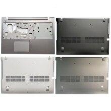 Novo portátil caso capa para lenovo z500 p500 capa superior palmrest caso superior com touchpad/base inferior caso capa