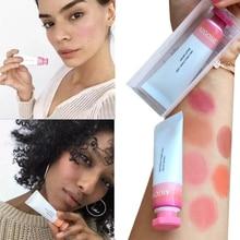 Colorete líquido cosméticos colorete Gel cremoso colorete 6 colores duradero Natural mejilla rubor maquillaje de contorno para rostro melocotón