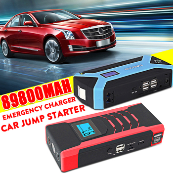 Multifunction Jump Starter Power Bank 89800mah 12V 800A 4USB Portable Car Battery Booster Petrol Diesel Charger Starting Devices