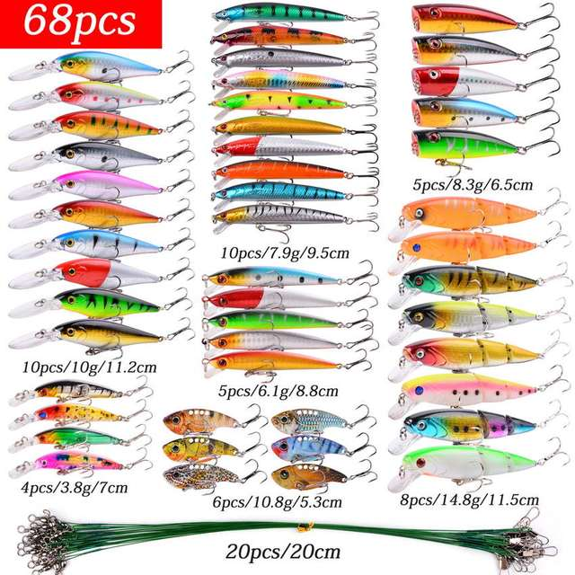 Mixed Fishing Lure Kits
