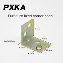 Free shipping thickened small angle iron laminate fixings furniture fittings 90 degree small angle