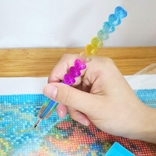 5D Diamond Painting Embroidery Tools Colorful Love Heart Point Drill Pen for DIY Cross Stitch Mosaic Craft Diamond Painting Kit