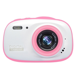 Kids Camera Underwater Digital Video Camcorder 8MP HD 1080P IP68 Waterproof with 2.0Inch IPS Screen Gift for Children Girls Boys