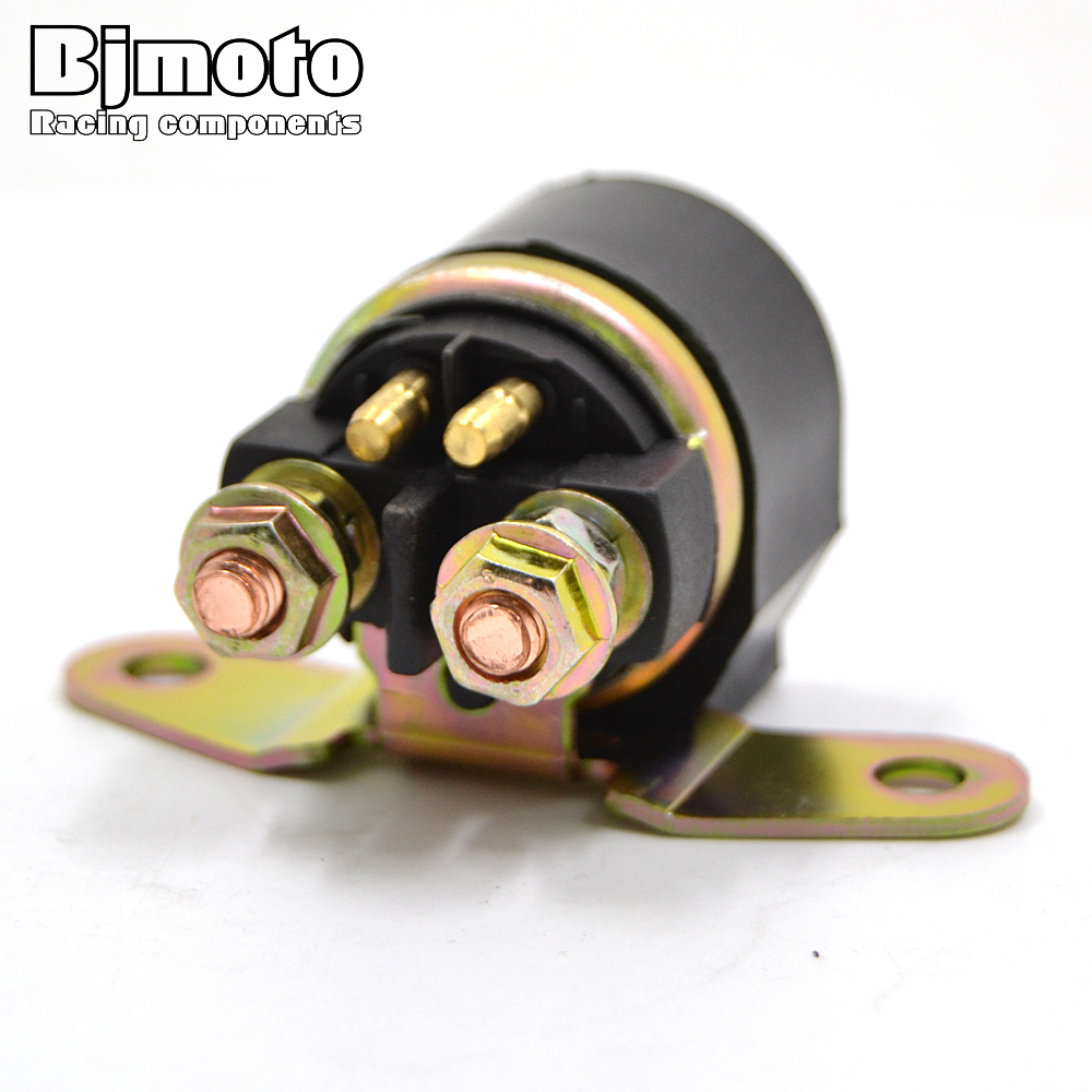 BJMOTO Motorcycle Electrical <font><b>Parts</b></font> Starter Relay Solenoid For Suzuki DR250 GN125 GSX600 GSXR1100 GSXR750 <font><b>DR650</b></font> LS650 GS500 image