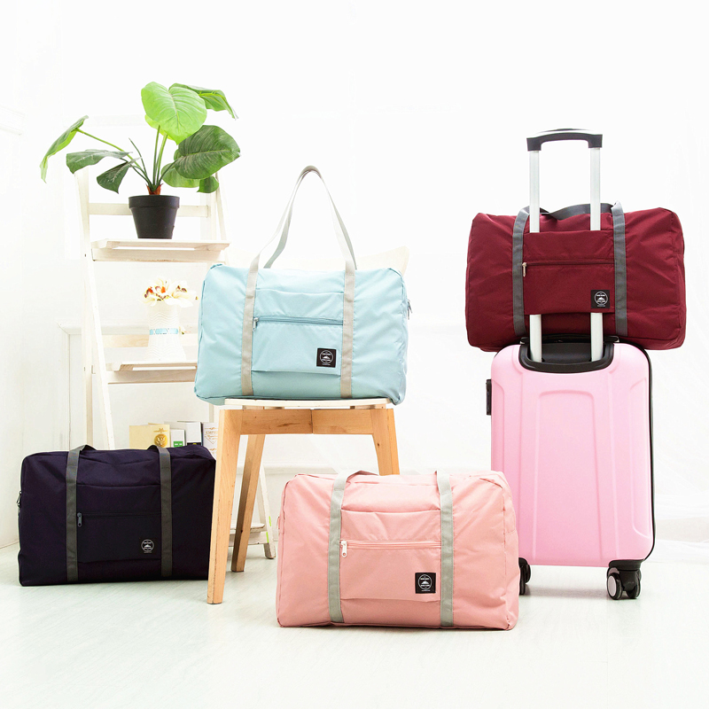 Foldable Large Capacity Weekend Bag For Travel Clothing Toiletries Luggage Duffle Organizer Women's Travel Bags Packaging Bag