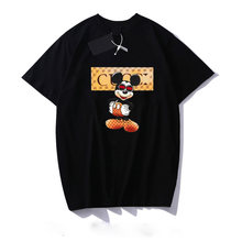 10 Colors Fashion Letter Print T-shirt Kawaii Women&men Clothes Vintage Harajuku Tops Plus Size Streetwear