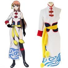 Anime Gintama Cosplay Costumes Kagura Cosplay Costumes Cheongsam Cosplay Costumes Halloween Party Game Women Cosplay Costume