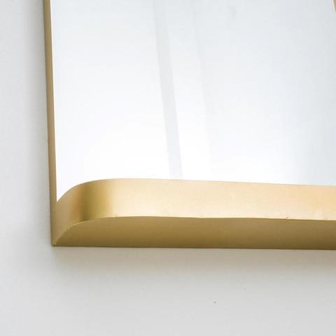 vestiario armazenamento espelho de maquiagem banheiro ferrugem fixado parede espelho