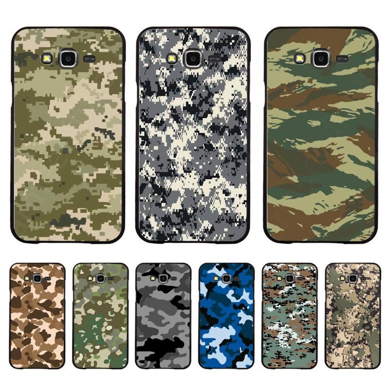 Babaite minimalista verde camuflaje militar caso de teléfono para Samsung A50 A70 A40 A6 A8 más A7 A20 A30 S7 S8 S9 S10 S20 Plus