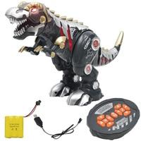 Walking ABS Dinosaur Toy Realistic Sound Gift Mechanical Kids Lighting Children Model Simulation Remote Control Smart