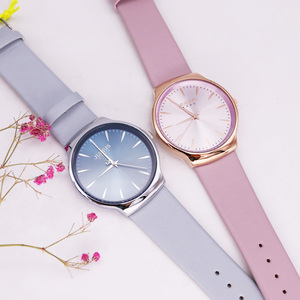 Image 5 - 새로운 우아한 줄리어스 여자 시계 일본 mov 시간 없음 패션 시계 진짜 가죽 팔찌 여자의 생일 크리스마스 선물 상자