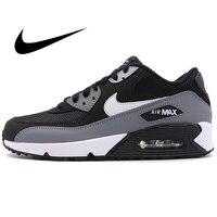 Zapatillas de correr originales NIKE AIR MAX 90 ESSENTIAL para hombre  zapatillas deportivas cómodas para exteriores  calzado atlético de diseñador AJ1285 018 Zapatillas de correr     -