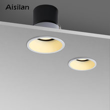Встроенный Светодиодный точечный светильник aisilan встроенный
