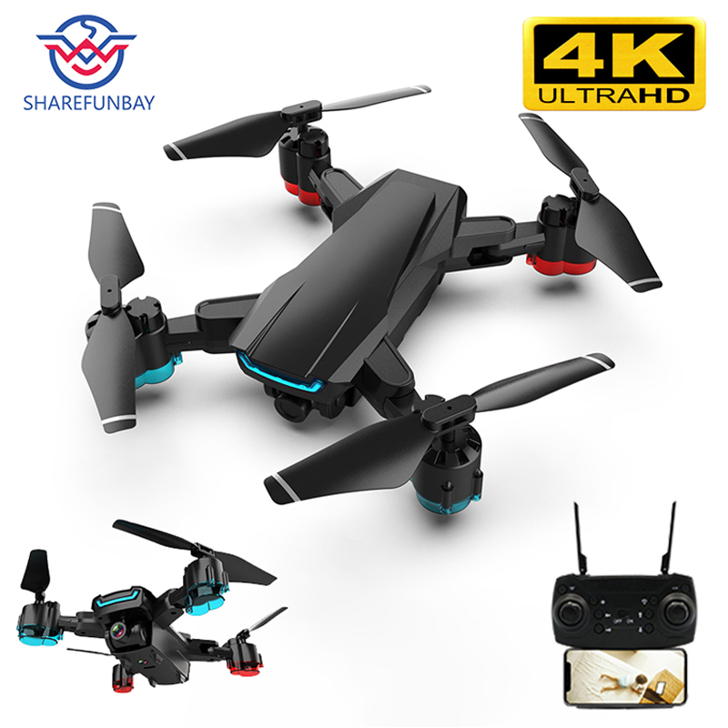 Drone 4k Camera K2 Drone HD 1080P WIFI FPV Drone Video Live Quadcopter Altitude Keep Drone With Camera RC Helicopter Dron