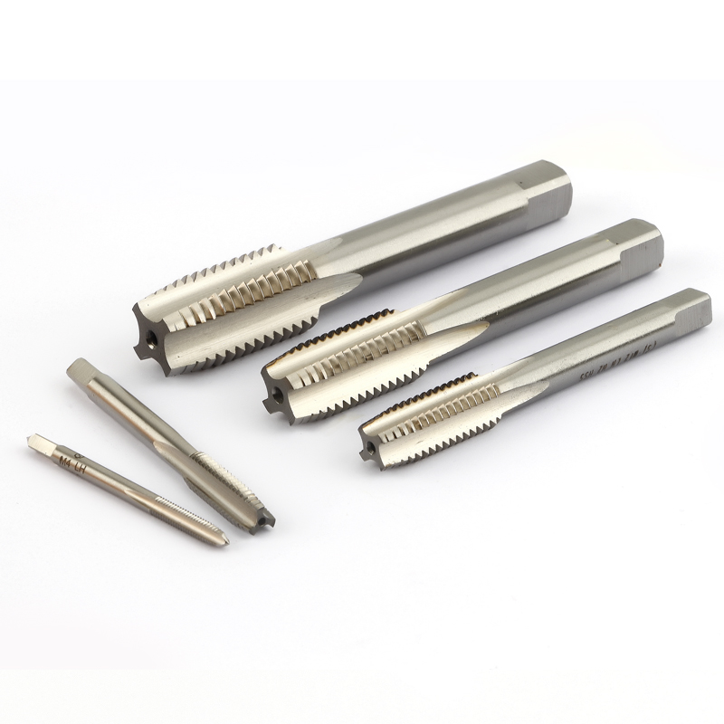 HSS-6542 Left Hand Tap Straight Flute Metric Stainless Steel Special Machine Screw Thread Taps M3 M5 M6 M8 M10 M12 M14 M27 M30