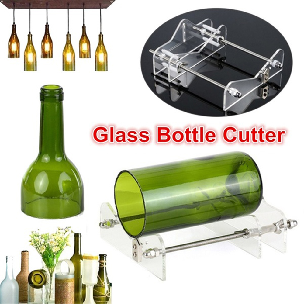 Wine Bottle Cutter Professional Manual Wine Beer Glass Bottle Cutter DIY Decoration Tools Machine