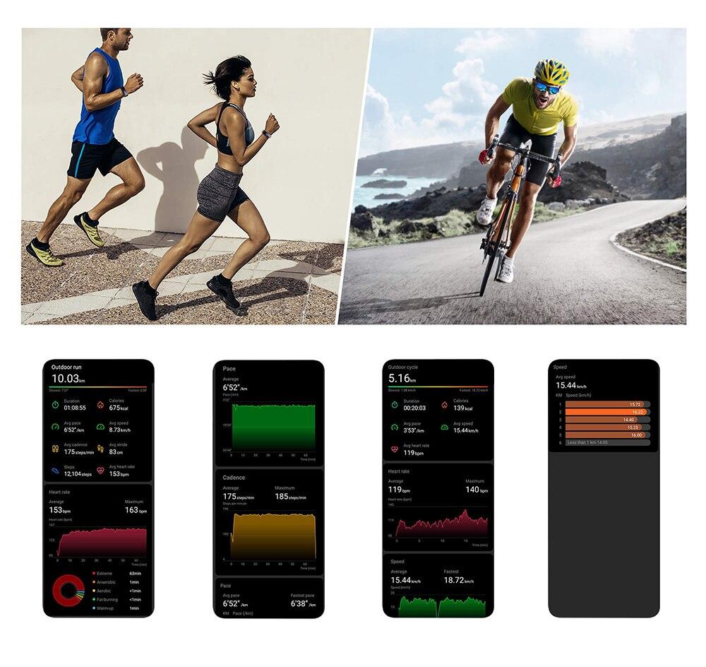 Hb6511002039448d39eca35f4c7a57271Q global version Honor band 5 smart band AMOLED heart rate fitness sleep swimming sport blood oxygen tracker