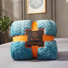 Bonenjoy thow cobertores sobre as camas cor azul lã flanela xadrez quente mantas de cama queen size cobertores e colcha