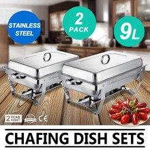 Нержавеющая сталь утепленная нагревающееся трением подогреватель блюд и БУФЕТ сервер сервировочной посуды