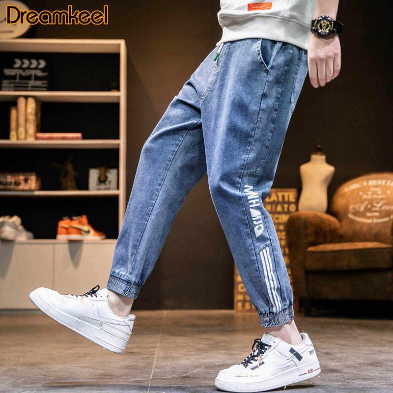 Mannen Joggers Street Style Broek Mannelijke Mannen Harembroek Plus Size Jeans Mannen Harembroek Losse Elastische Taille vintage Broek R