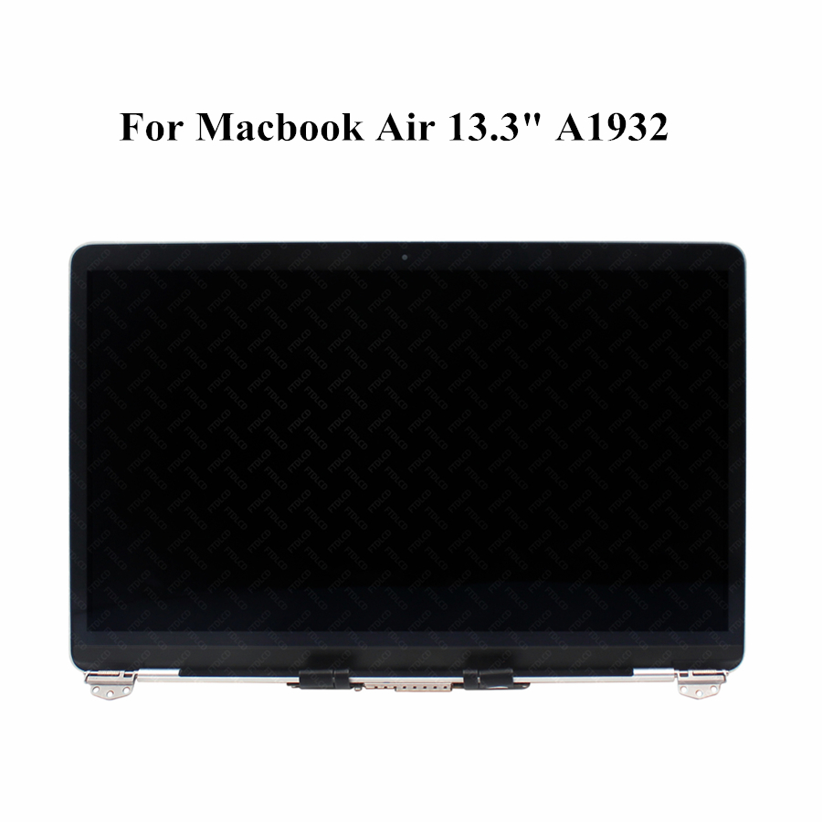 New Replacement 13.3 inches 2560x1600 Full LCD Screen Complete Top Assembly For MacBook Air Retina 13