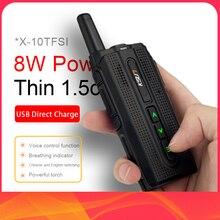 KSUN KSX10 Walkie Talkieกลางแจ้งขนาดเล็กHandheld Meter Mini 50 พลเรือนกิโลเมตรสูงโทรศัพท์มือถือIntercom