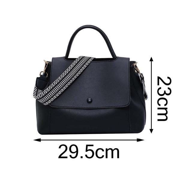 Fashion Simply PU Leather Crossbody Bag For Women  6