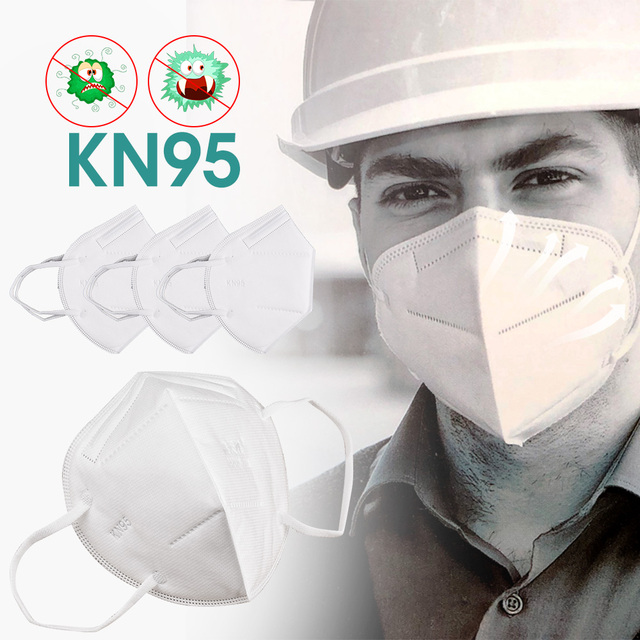 Reusable N95 Virus Respirator Mask 98% Protective Masque Face Mask Anti-pollution Antibacterial flu Mask From Kn95 Mouth Caps 1