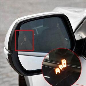 Монитор обнаружения слепых пятен боковое зеркало заднего вида для honda crv, cr-v BSD сменная дорожная микроволновая сенсорная система безопаснос...