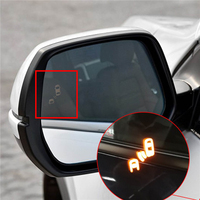 Blind Spot Detection Monitor side rear view mirror for honda crv cr v BSD Change road Microwave sensor Security System 2008 2018