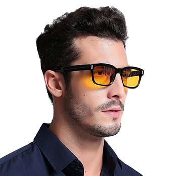 Blue Ray ordinateur lunettes hommes écran rayonnement lunettes marque Design bureau jeu bleu lumière lunettes UV blocage yeux lunettes