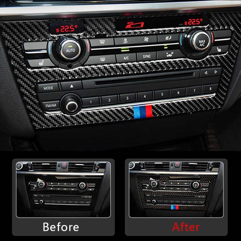 Color Name : A 1 Type SPLLEADER Carbon-Faser for BMW X3 X4 F25 F26 Auto-Innen Gearshift Klimaanlage CD Verkleidete T/ür Armlehne Abdeckung Trim Aufkleber Zubeh/ör Voiture interieur