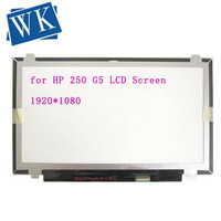 FHD FULL HD IPS 30 Pins 15.6 Laptop Matrix for HP 250 G5 LCD Screen LED Display Panel Replacement