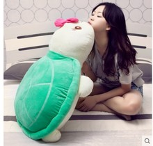 Free shipping turtle plush toy  hold pillow doll dolls nap cushion for leaning gifts