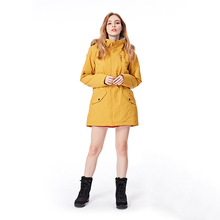 Professional level womens ski jacket winter outdoor sports thermal waterproof wind-proof and breathable Fur collar coat
