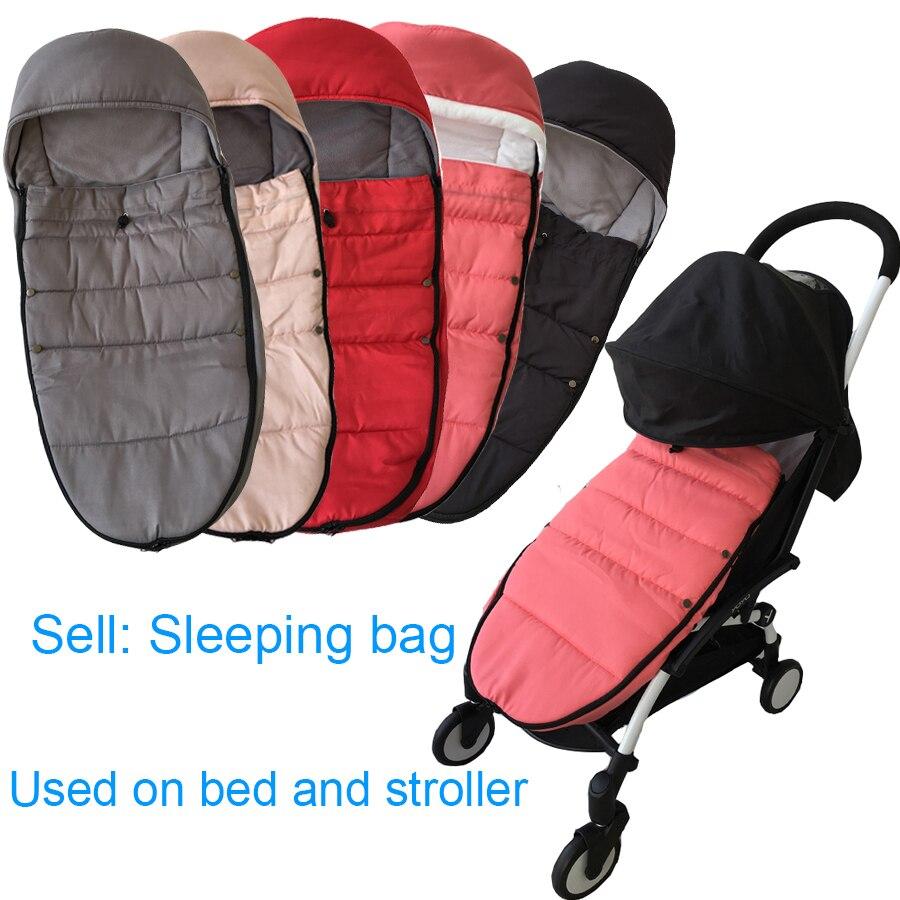 Universal Baby Stroller Accessories Winter Socks Sleep Bag Windproof Warm Sleepsack Baby Pushchair Footmuff For Babyzen Yoyo