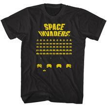 Camiseta para hombre de juego de Arcade de batalla alienígena Vintage Space Invaders Taito Score