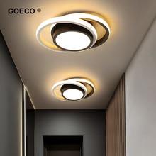 Candelabro de techo LED moderno para pasillo, lámpara de techo para el hogar, dormitorio, sala de estar, comedor, balcón, accesorios, iluminación interior