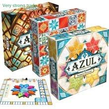 2021 azul jogo de tabuleiro primeira edição 2-4 jogadores inglês versão clássico jogo intrigado para a família crianças brinquedo clássico presente das crianças
