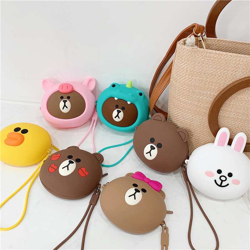 Cute Cartoon Decorative Silicone Bag for Airpods Headphones Waterproof Box Protective Cover Bluetooth Earphone Case Gifts in Earphone Accessories from Consumer Electronics