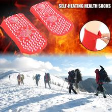 Socks Foot-Heated-Socks Warm Winter for Adult Tourmaline Magnetic-Therapy Healthy