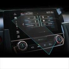 Lsrtw2017 автомобильный сенсорный экран gps навигация Защитная закаленная пленка для honda civic 10th civic