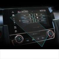 Lsrtw2017 Автомобильный сенсорный gps навигационный Экран Защитная закаленная пленка для Honda civic 2016 2017 2018 2019 2020 10th civic